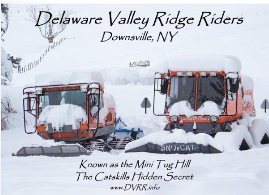 Snowmobiling ridge riders